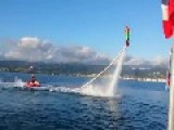 PURE AWESOMENESS! This Guy Does A Double Back Flip With A Flyboard