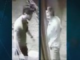 Pair Caught On Camera High-fiving Each Other After Vicious Street Attack Which Left Man With Shocking Facial Injuries