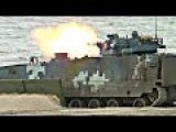 Powerful Russian & Chinese Made Tanks & Armored Vehicles In Action During Russian Military Olympics