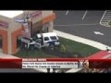 Police Car Crashes Into Dunkin' Donuts In South Jersey