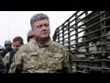 Poroshenko's February 15th Comment On Debaltsevo While Addressing The Nation