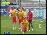 Polish Goalkeeper Celebrates Penalty Save Like A BOSS