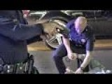 Police Pit Maneuver Cyclist - Officer Safety