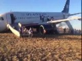 Philadelphia International Airport Plane Crash Lands!