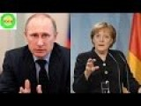 Putin And Merkel Rank First And Second In World's Most Powerful People 2015