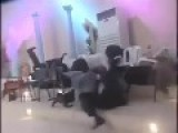 Pastor Knocks Down Church Members With The Power Of Holy Ghost
