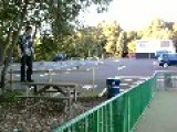 Parkour Playground Green Fence Jump Fail