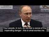 Putin's Warning: Full Speech 2016