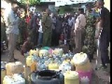 Police Seize Over 2000 Liters Illegal Liquor In Africa