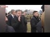 Porky Yells At Laid Off Ukrainian Workers That Their Firing Was Necessary For Future