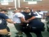 POLICE BRUTALITY = Black Cops Attack Black Suspect