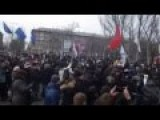Protests In Donetsk, As Unification For Regions Of Ukraine With Russia, Becomes More Real
