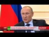 Putin: Yanukovich Has No Political Future, I Dont Sympathize With Him