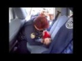 Police Woman Saves A Little Boy's Life