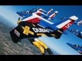 Patrouille De France And Jetman Dubai Fly Together