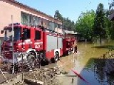 Polish Firefighters Help Remove The Effects Of Flooding In The Town Of Šamac Bosnia And Herzegovina