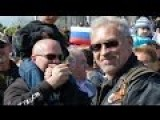 People Of Slovakia Welcome Night Wolves From Russia