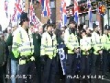 POLICE TOTALLY SABOTAGE BRITAIN FIRST MARCH THROUGH ROCHESTER