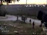 Palstian Kids Throw Rocks On IDF