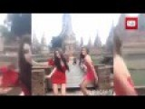 Pretties Prosecuted For Dancing At Ayutthaya Temple