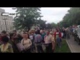Protest At US Embassy In Kiev: People Demand Removal Of US Soldiers And Weapons From Donbass-Eng Subs