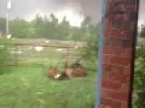Part 2 - Crazy Funny Okie Guy Narrates F5 Tornado Coming Straight At Him