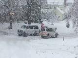 Plow Truck Push School Van