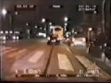 Police Chase In Milan Italy