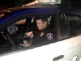 Police Officer Confronted By One Of The Chipmunks