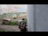 Pro Russian Rebel Got His Hat Shot Off By A Sniper In Ukraine