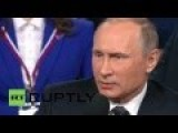 Putin Says Panama Papers Is Enemy's Attempt To Destabilize Russia