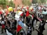 Palestinians Living In Pakistan Protest Against Israeli Rule Over Gaza
