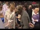 Polish Priest Hates Having His Hand Kissed