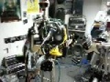 Preview Of Compressorhead During Band Practice At The Robocross Head Quarters In Berlin.Preview Of Compressorhead During Band Practise At The Robocros