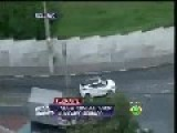Police Chase Car Live On TV