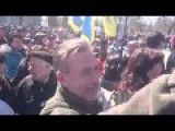 Poroshenko In Odessa, People Shout Fascism Does Not Pass Here