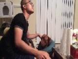 Pushy Dog Demands Petting