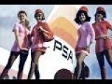 PSA Stewardesses In Their Mini-skirt Uniforms Commercial 1966