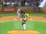 Popcorn Catch By Pittsburgh Pirate Fan