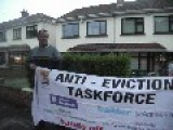 Protest Outside Start Stepstone Mortgages Boss Alan Caseys House