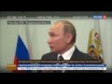 Putin, Oct 11th 2016: Canceled Paris Trip, How To Fix Syria, Refugee Crisis, Terrorism ENG Voiceover
