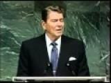 President Ronald Reagan - Three Alien Threat Speeches