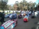 Pedal Prix Crash: Domino Effect. 29 07 12