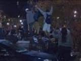 Police Fire Tear Gas In Pumpkin Festival Riot