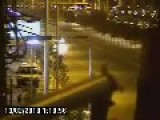 Police Chase Ends Up In Crash - Viña Del Mar, Chile