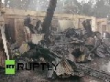 Philippines: NYE Celebrations Cause HUGE Fire, Destroys 4,000 Homes