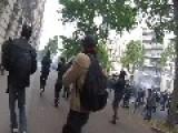 Paris Labour Reform Protest Shrouded In Tear Gas