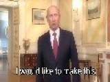 Putin Addresses The World IN ENGLISH!