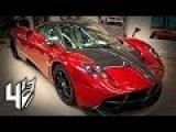 Pagani Huayra Transformers 4 Cars: Age Of Extinction