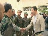 President Bashar Al-Assad Visits Christian Town Of Maloula On Easter